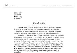 common themes in short stories of james joyce araby essay essay araby james joyce by james joyce essay ewrt c