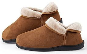 Leather Bedroom Slippers Homywolf Unisex Cotton House Slippers Review
