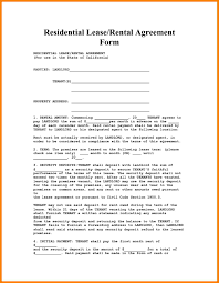 Free Residential Lease Agreement Templates Beautiful Simple Lease Agreement Template Images Office Worker