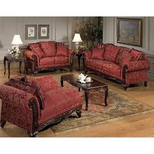 Chaise Lounge Red Fainting Couch Victorian Style Chaise Lounge Red Gold Paisley