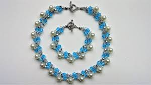 handmade beaded necklace images Elegant handmade beaded necklace and bracelet beginners jewelry jpg
