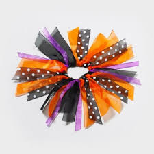ribbon for hair that says gymnastics halloween ribbon hair tie happy fall yall pinterest cats