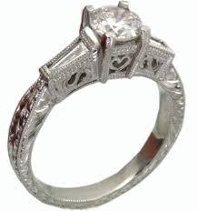platinum vintage rings images Platinum vintage engagement rings wedding promise diamond jpg