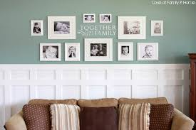 board batten gallery wall in the living room love of family u0026 home