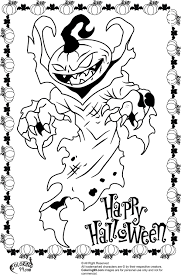 cool halloween coloring page free download