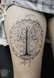 koit berlin white tree of gondor theme with quotes black