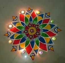 rangoli decoration flower petals rangoli design for diwali decoration