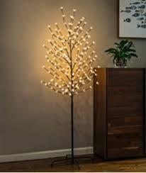 artificial tree lights problem amazon com fashionlite 6 5 feet 240 led cherry blossom flower tree