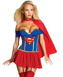 Halloween Costumes Womens Superheroes Super Hero Costume Supergirl Women U0027s Superhero Costume