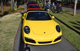 yellow porsche 911 2017 porsche 911 c2s u2013 race yellow and guards red first drive
