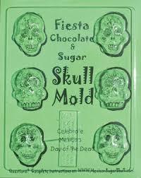 sugar skull molds crizmac sugar skull mold sheet small