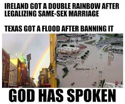 Same Sex Marriage Meme - here s how god really feels about same sex marriage queerty