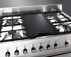 48 Inch Cooktop Gas Smeg A3xu6 48 Inch Freestanding Dual Fuel Range With Dual Electric