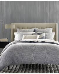 Macys Bedding On Sale Now 52 Off Hotel Collection Waffle Weave Chambray King