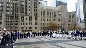 marching leathernecks in chicago thanksgiving parade leatherneck