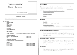 Sample Great Resume by How To Write A Great Curriculum Vitae