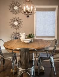 rustic buffet table dining room contemporary with rectangular area