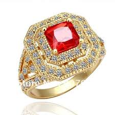 jewelry rings wholesale images R064 promotion 18k gold plated ring jewellery new fashion jewelry jpg