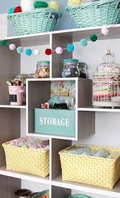 Storage Ideas For Craft Room - creative craft room storage