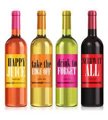 Anniversary Wine Bottles Funny Custom Wine Bottle Labels Printing Icustomlabel