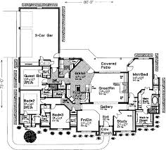 French Country Floor Plans French Country Style House Plans Plan 8 457