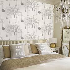 Home Wallpaper Decor by Wall Paper Designs For Bedrooms Great Home Wallpaper Design For