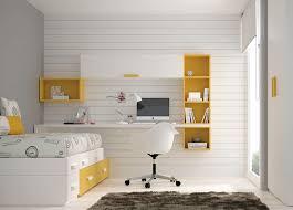 bureau avec etagere bureau en bois laqué contemporain pour enfant avec étagère