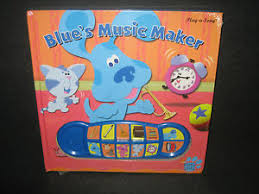 buy blues clues music maker play song book shrink wrap