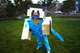 minecraft steve costume minecraft costume for kids maydae minecraft brave