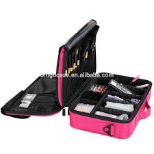Professional Makeup Carrier Professional Makeup Bag With Dividers Buy Makeup Bags With