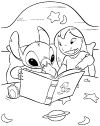 lilo stitch coloring pages free printable painting