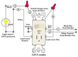 gfci combination wiring electrical upgrades pinterest wire