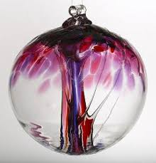 kitras hanging glass tree of enchantment ornaments
