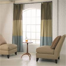 Arch Window Curtain Home Interior Livingroom Arched Window Treatment Idea With Slide