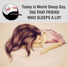 dopl3r memes today is world sleep day tag that friend who