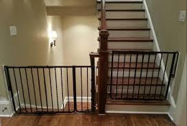 Safety Gate For Top Of Stairs With Banister Good Child Safety Gates For Stairs Homesfeed