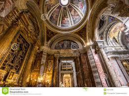 sant ignazio church rome italy stock photo image 56575398