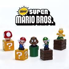 aliexpress buy super mario bros figures toy bundle 5cm 2