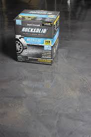 rocksolid garage floor coating tutorial gray house studio