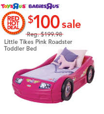Babies R Us Toddler Bed Little Tikes Roadster Bed Only 100 Reg 199 98 At Toys R