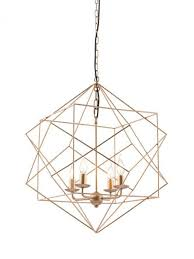 Wire Pendant Light Gold Wire Geometric Pendant Light Modern Furniture Brickell
