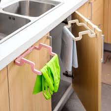 Kitchen Cabinet Garbage Drawer Kitchen Cabinet Hanging Rubbish Bag Holder Garbage Storage Rack