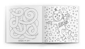 meowingtons cat coloring book