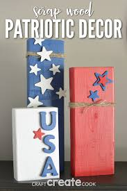 craft create cook patriotic decorations to make with scrap wood