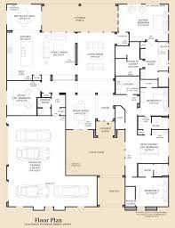 floor plans with courtyard dorada estates the aracena home design