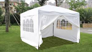Gazebo Tent by Amazon Com Mcombo Ez Pop Up Wedding Party Tent Folding Gazebo