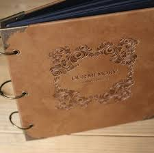 vintage leather photo album aliexpress buy new arrival quality leather handmade diy gift
