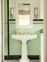 Bathroom White And Black Interior by 62 Best 1940 U0027s Bathroom Images On Pinterest Retro Bathrooms