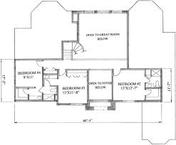 2500 Sq Ft Ranch Floor Plans by Traditional Style House Plan 4 Beds 3 50 Baths 4000 Sq Ft Plan
