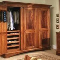 Wood Armoire Wardrobe Portable Wood Coat Closet Saragrilloinvestments Com